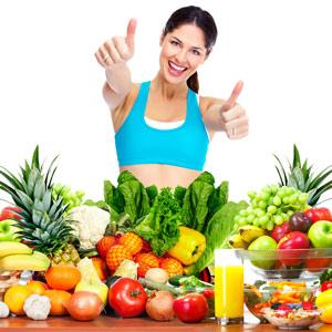 gezonde producten om af te vallen