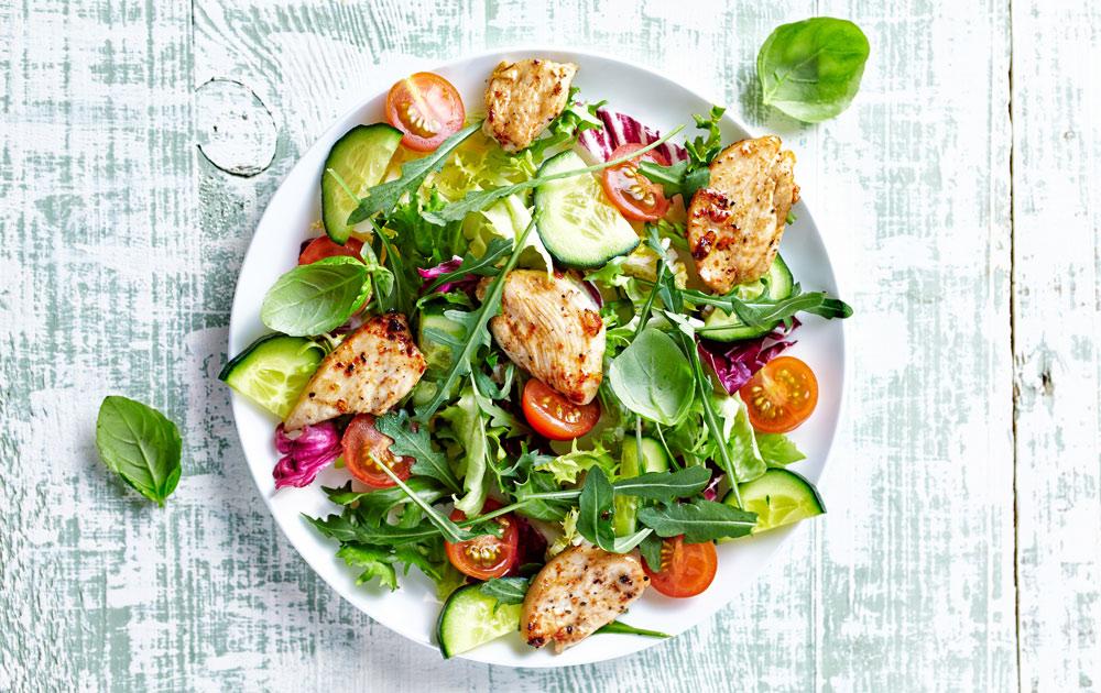 dieet salades lunch
